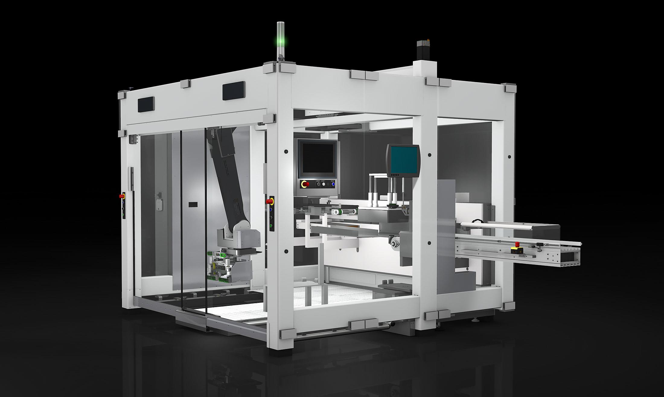 Robotic Tray Depalletizer