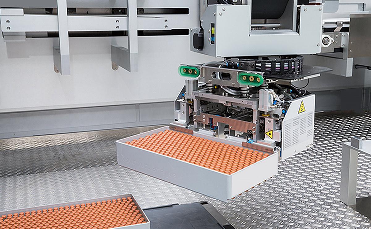 Robotic Tray Depalletizing
